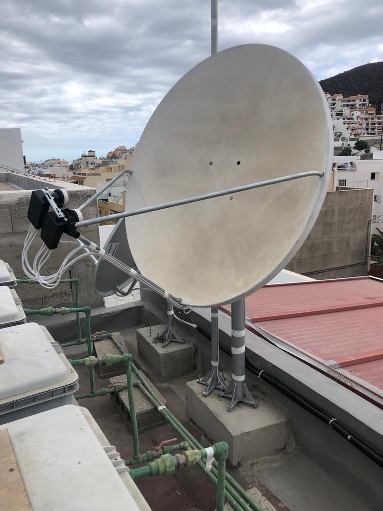 Instalador de antenas en Tenerife