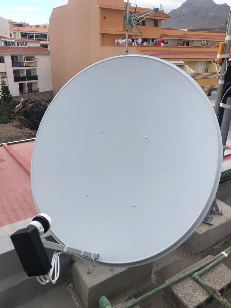 Antenas parabólicas Tenerife