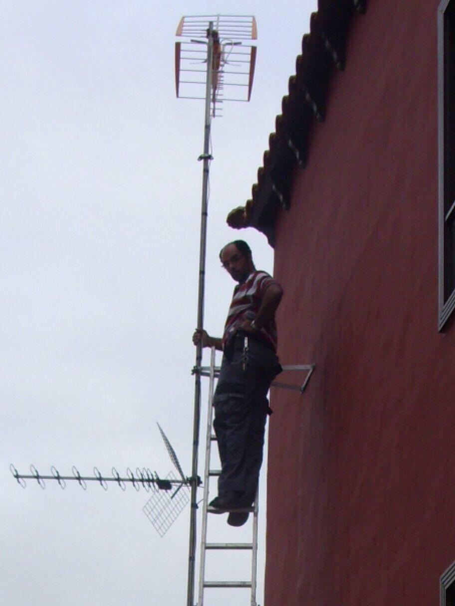 repacion de todo tipo de antenas