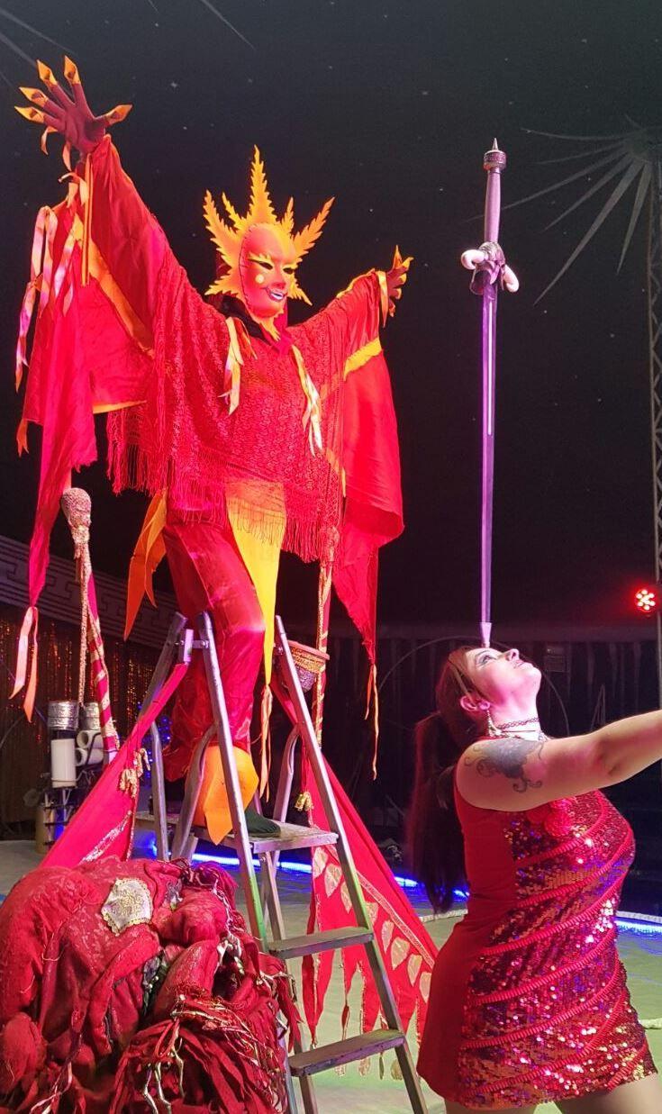 Foto 14 de Actuaciones artísticas y musicales en  | Circo Del Terror Familiar