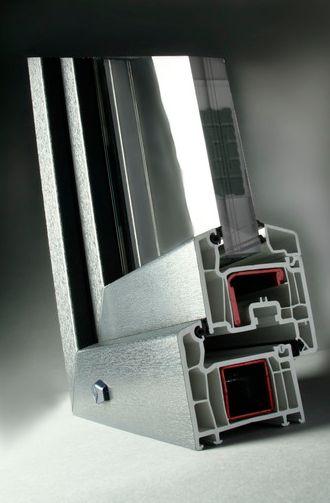 Sistema Softline doble junta 70mm hoja recta: Productos  de Alecar Ventanas