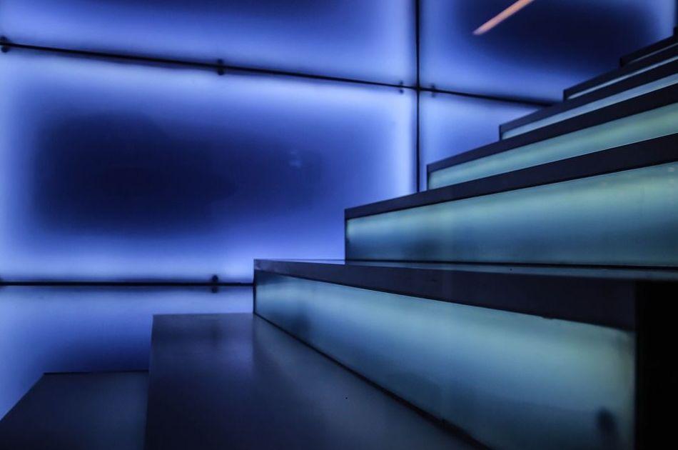 Escaleras: Servicios de Cristalería Bizkor Argi