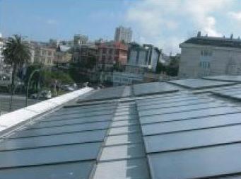 Paneles solares en Coruña