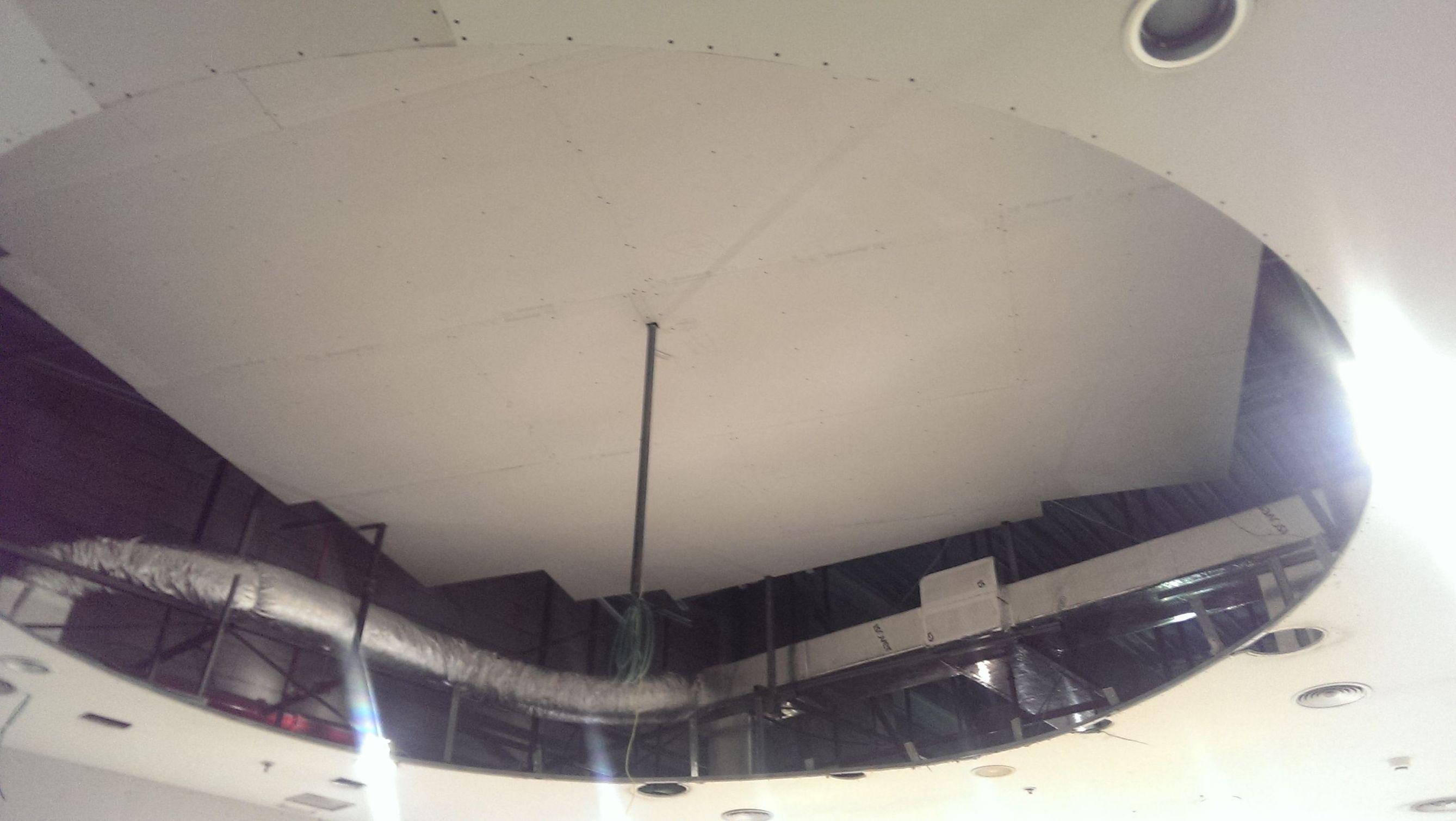 Colocación de techo y refuerzo del perímetro del techo bajo en Getafe