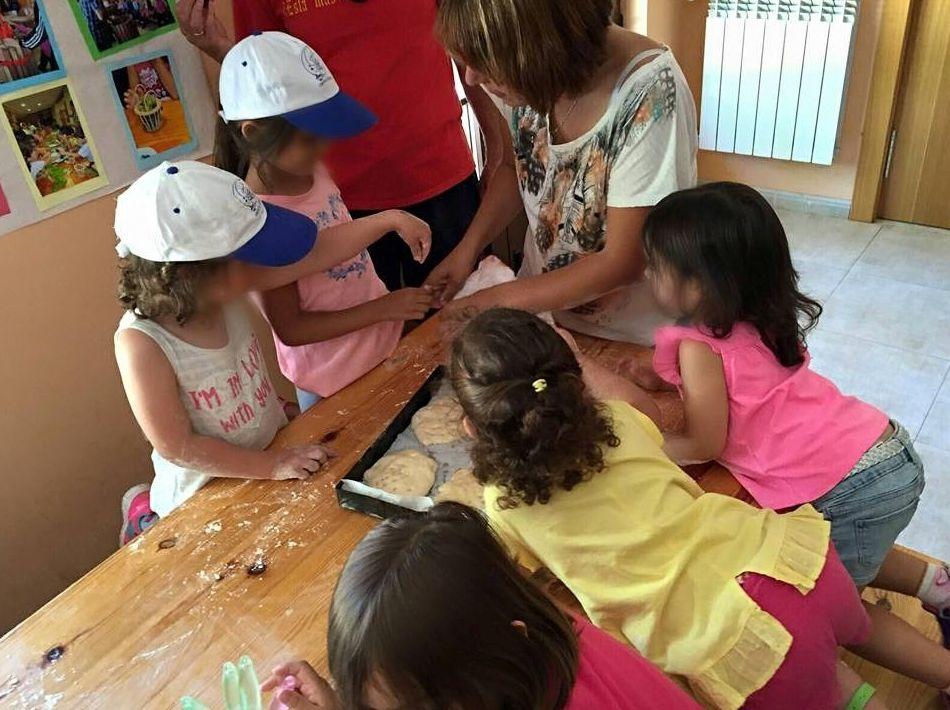 Organización de talleres infantiles