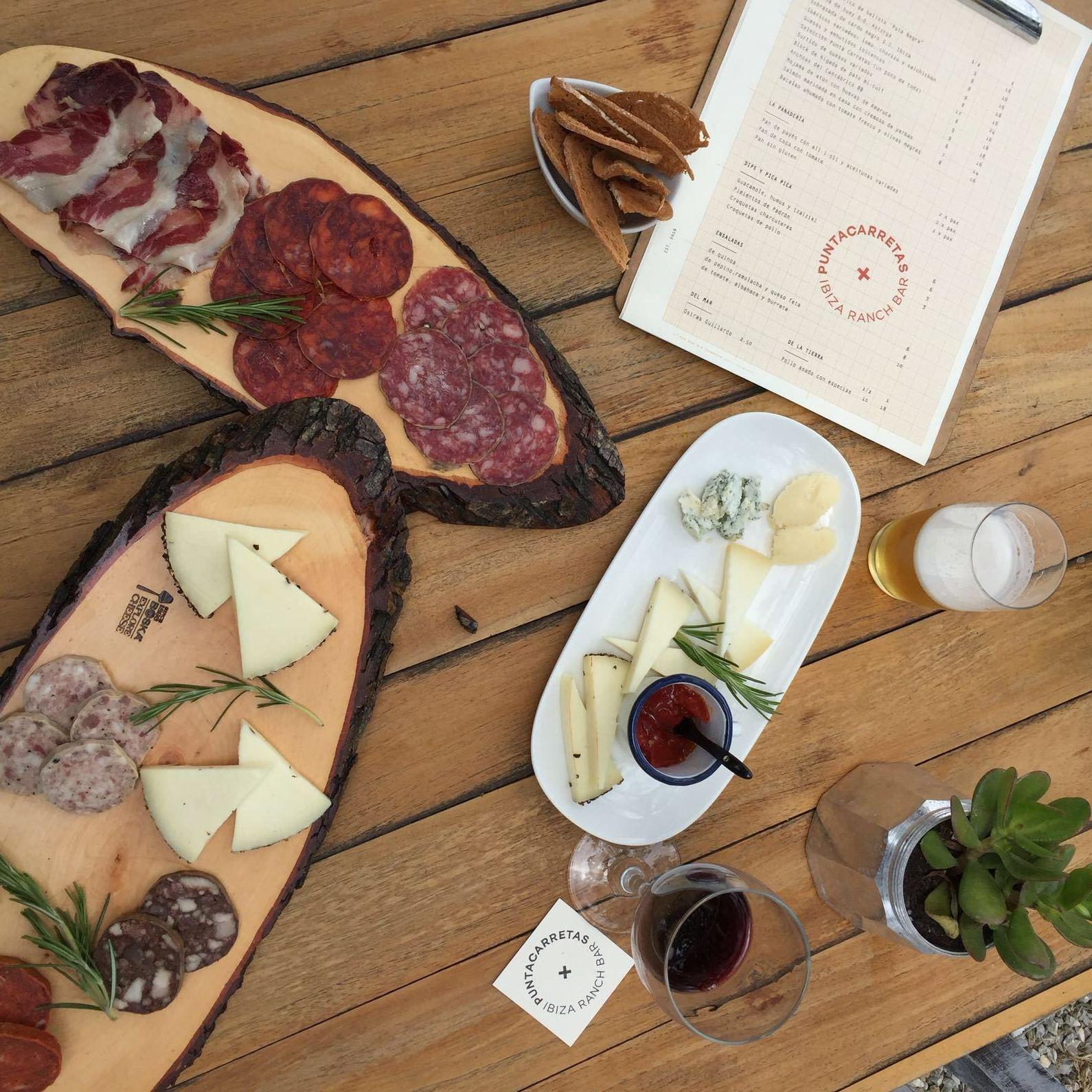 Para picar y compartir: Carta-Reservas-Eventos de Restaurante Parrilla con huerto propio (ESTAMOS CERRADOS HASTA EL 01/04/2019)