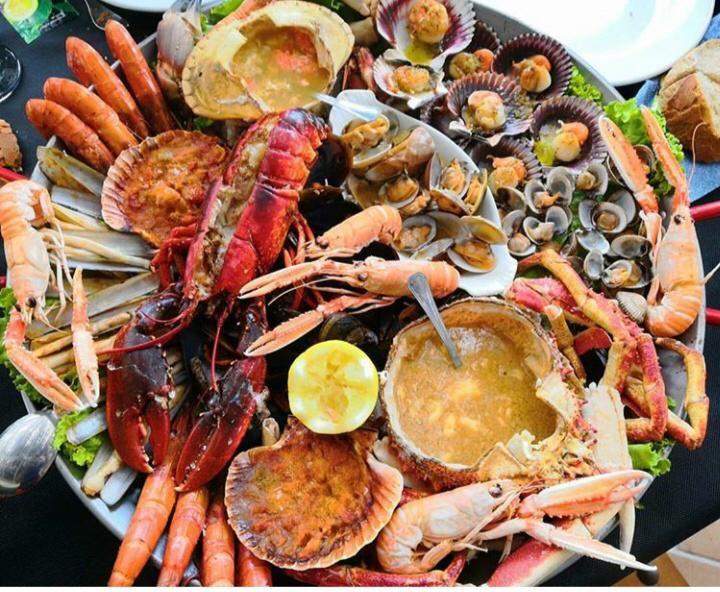 Especialidad en mariscos en Playa Meloneras