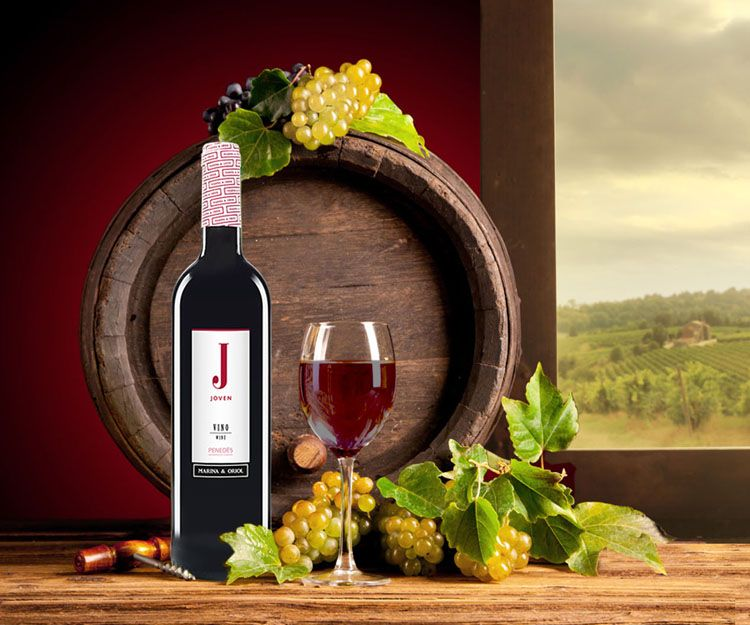 Exportación de vinos con denominación de origen
