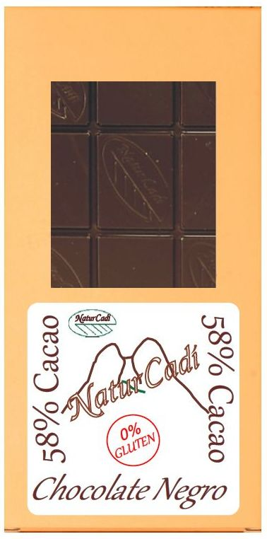 CHOCOLATE NEGRO 58%: Productos de Rexgosa®