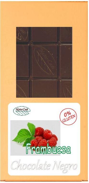 CHOCOLATE NEGRO CON FRAMBUESA: Productos de Rexgosa®