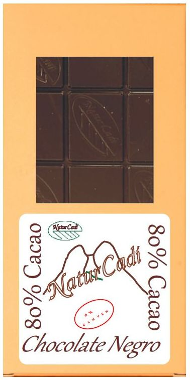 CHOCOLATE NEGRO 80% : Productos de Rexgosa®