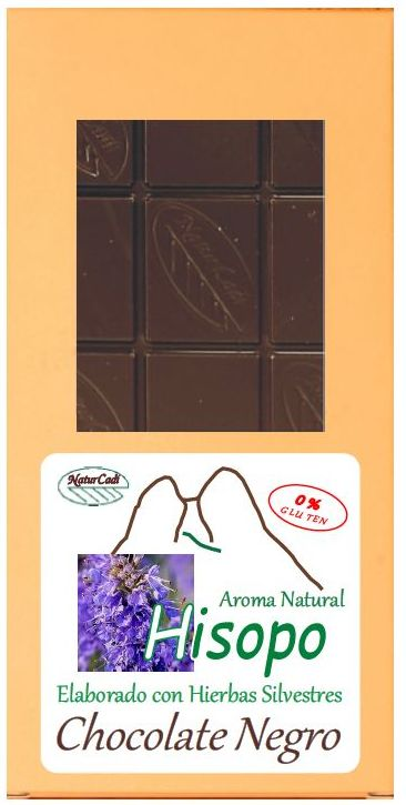 CHOCOLATE NEGRO CON HISOPO: Productos de Rexgosa®
