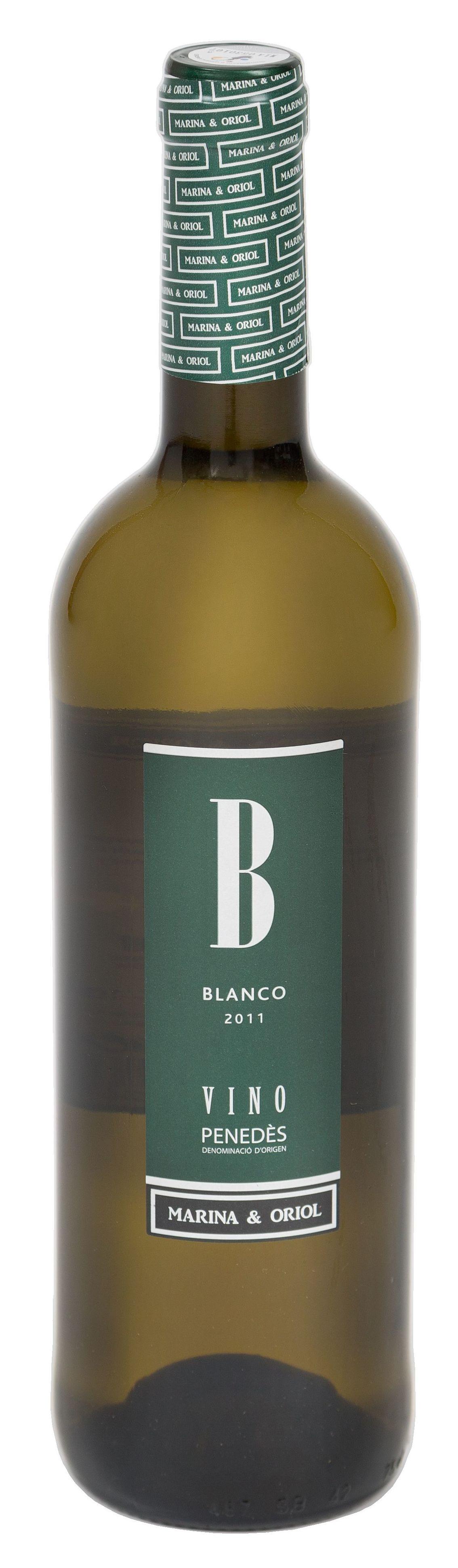 Vino Blanco Joven D.O. Penedés MARINA & ORIOL: Productos de Rexgosa®