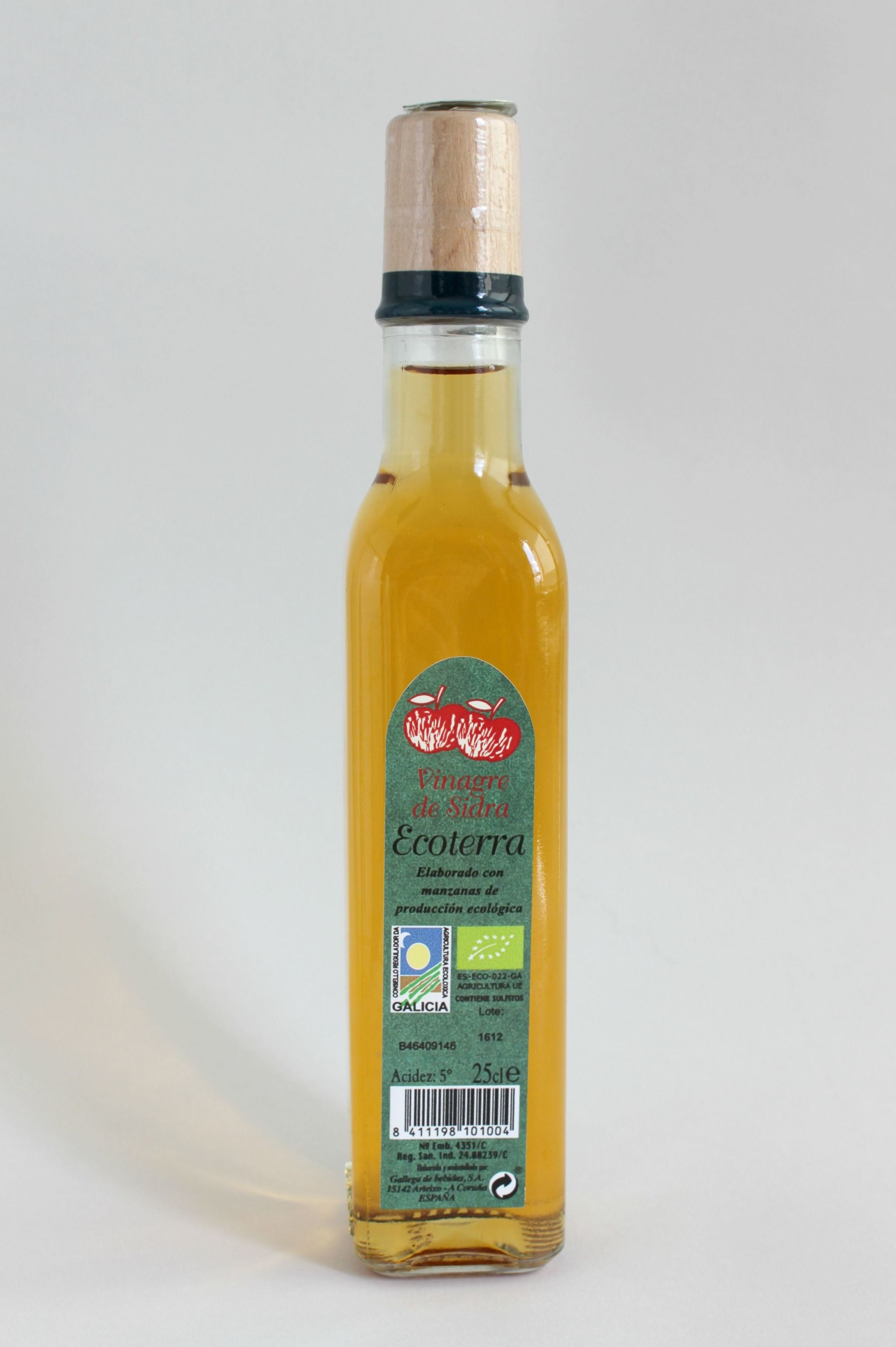 VINAGRE ECOLÓGICO DE SIDRA: Productos de Rexgosa®