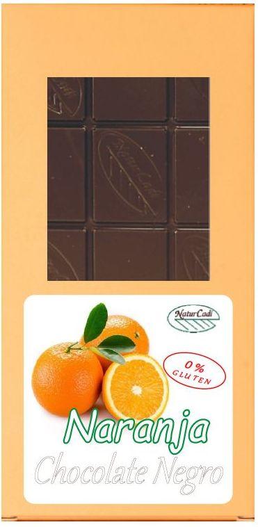 CHOCOLATE NEGRO CON NARANJA CONFITADA: Productos de Rexgosa®