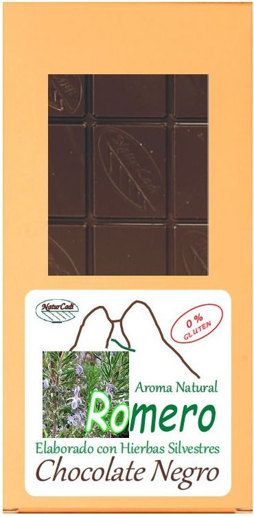 CHOCOLATE NEGRO CON ROMERO: Productos de Rexgosa®