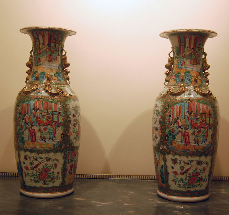 Venta de jarrones chinos