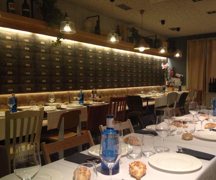 Restaurante con toque de modernidad