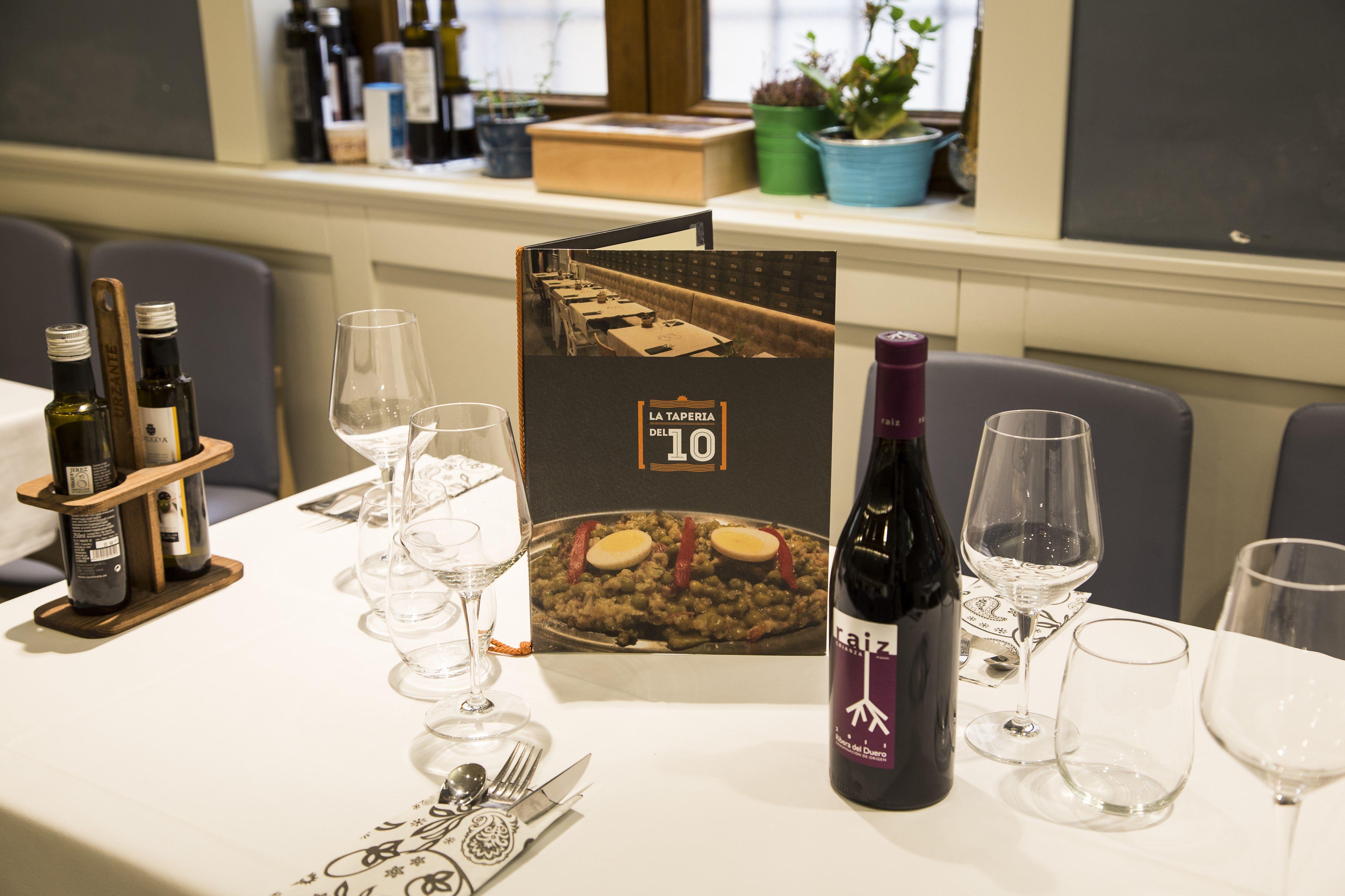 Foto 19 de Restaurante en Palencia | La Tapería del 10