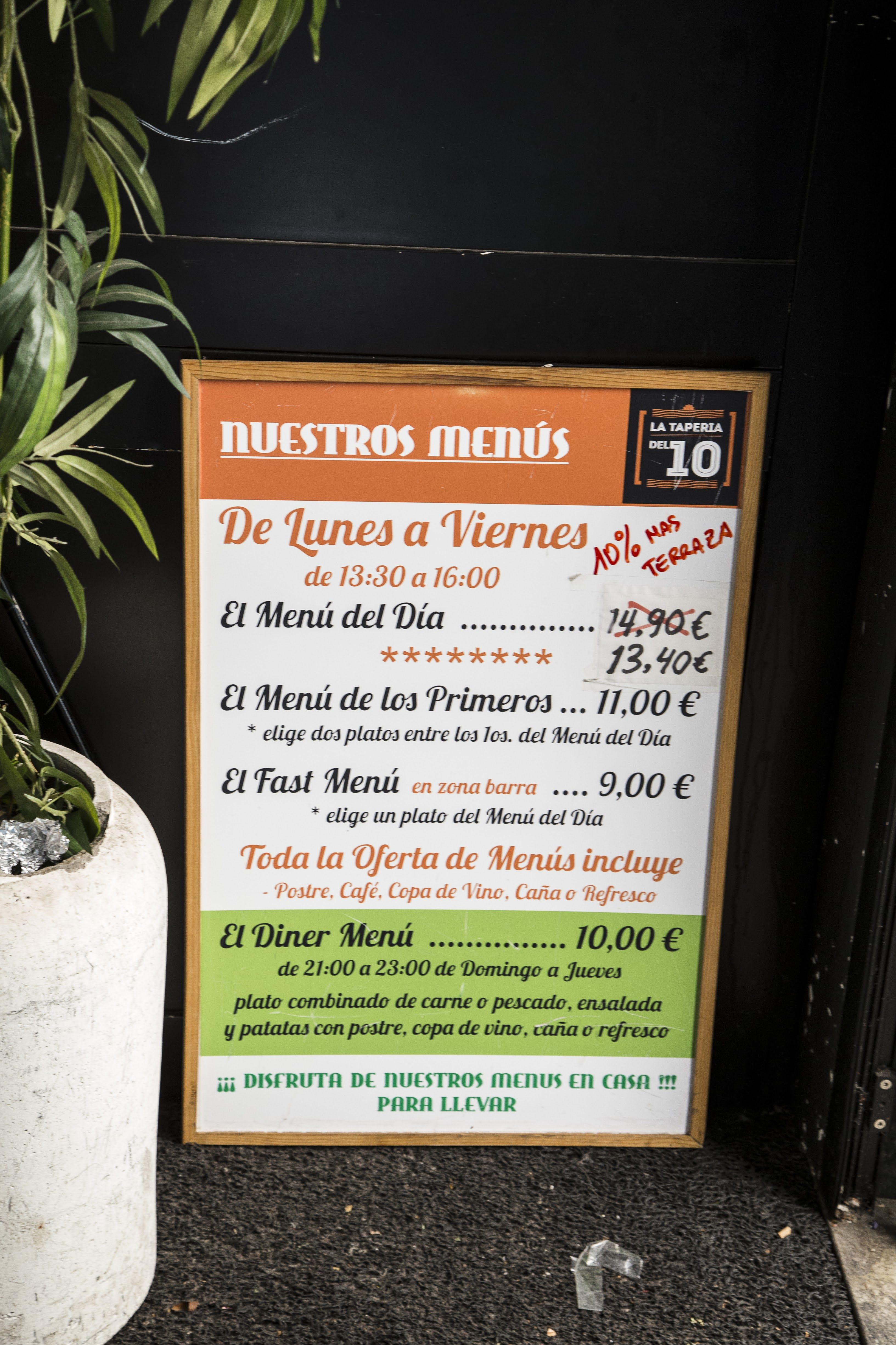 Foto 15 de Restaurante en Palencia | La Tapería del 10