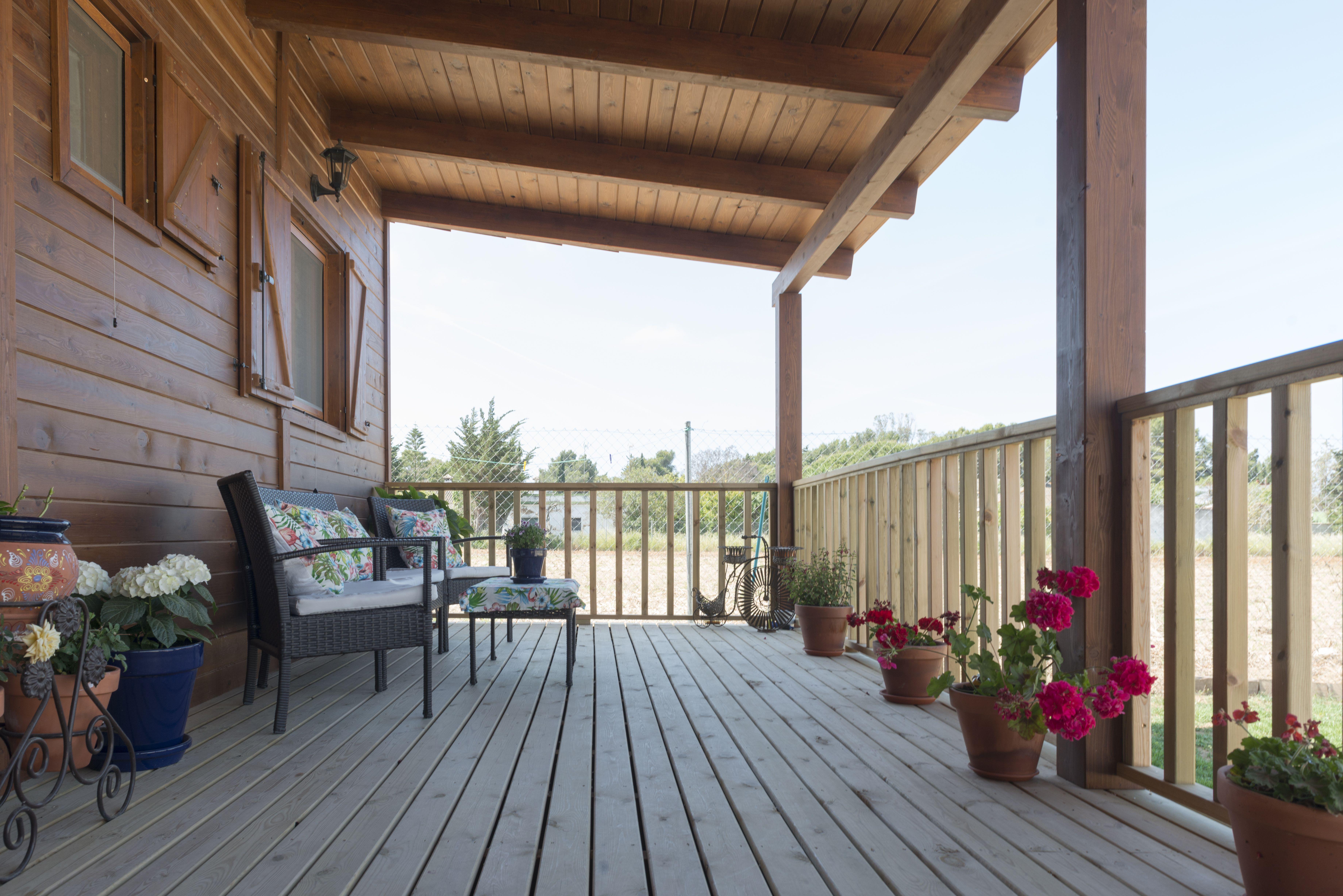 Porches y pérgolas de madera Chiclana de la Frontera, Cádiz