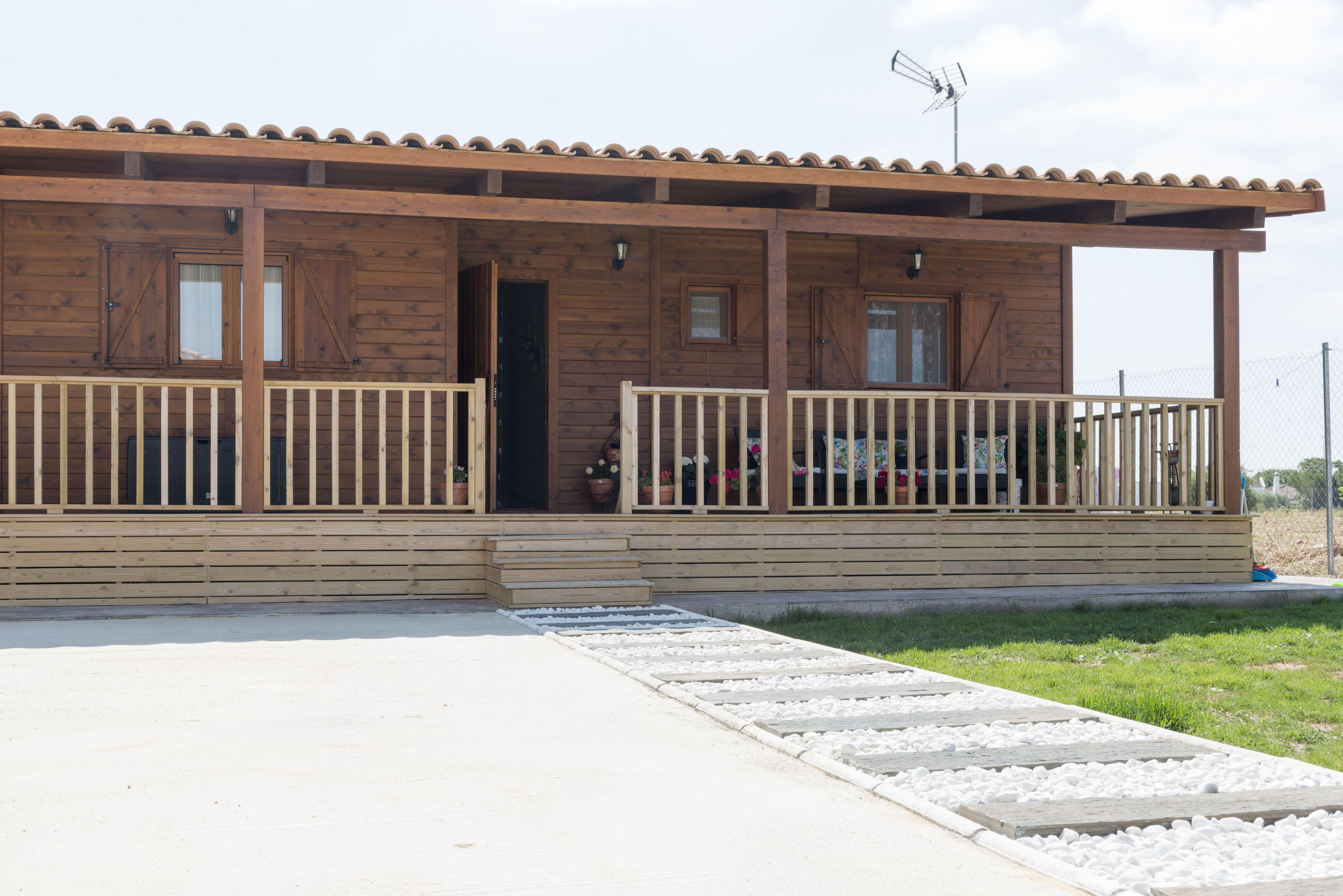 Construcción yventa de casas de madera en Cádiz