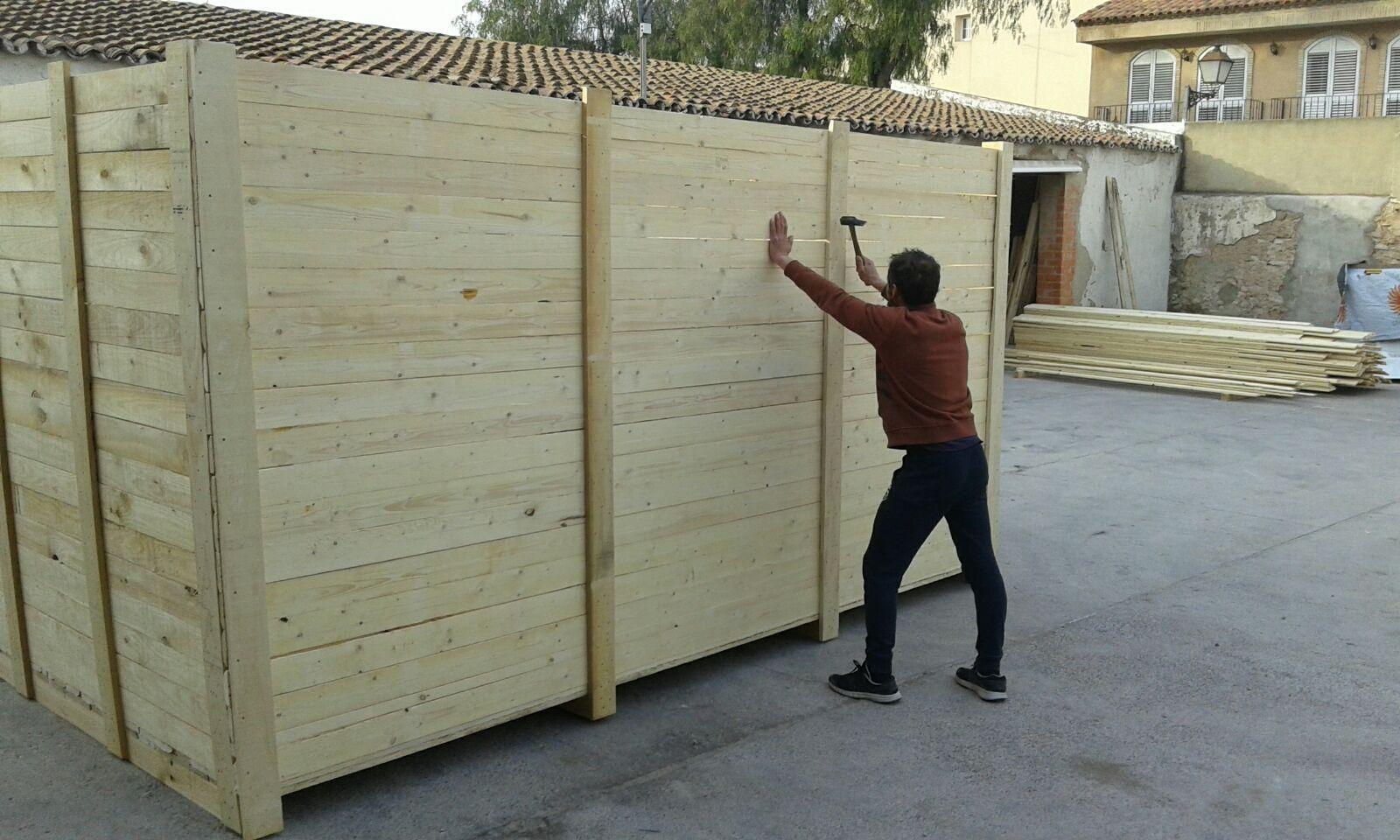 Foto 26 de Cajas de madera en San Antonio de Benagéber | Envases y Embalajes Anem