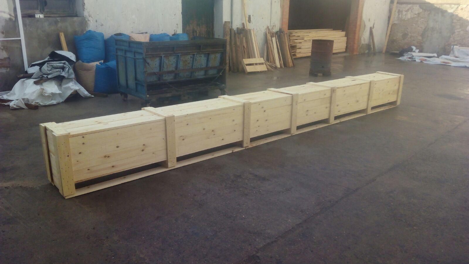 Foto 29 de Cajas de madera en San Antonio de Benagéber | Envases y Embalajes Anem