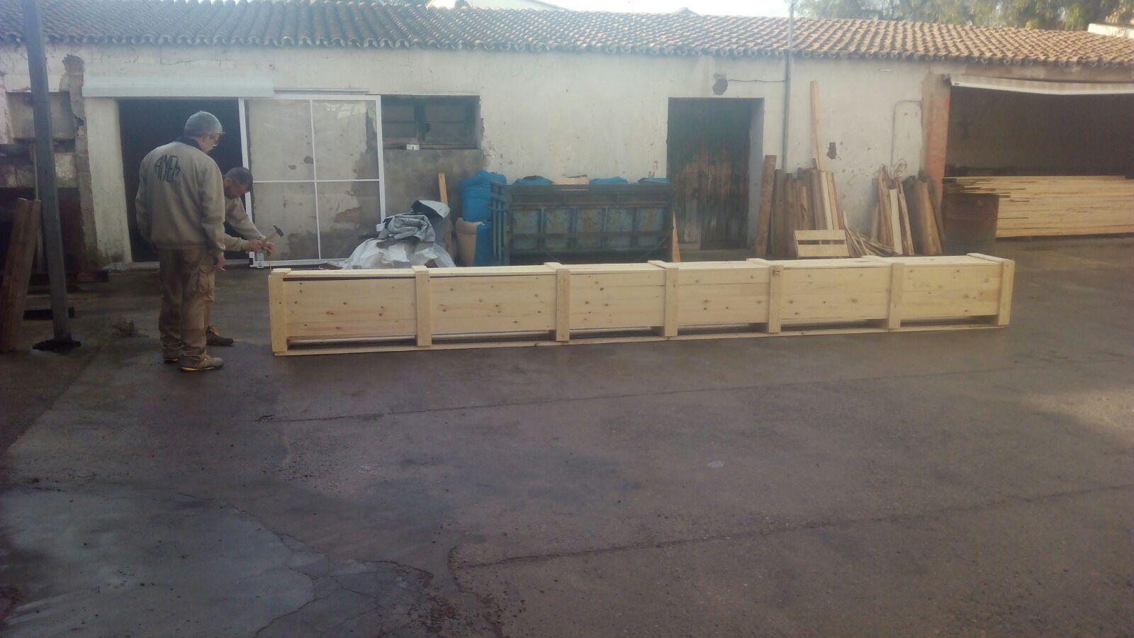 Foto 28 de Cajas de madera en San Antonio de Benagéber | Envases y Embalajes Anem