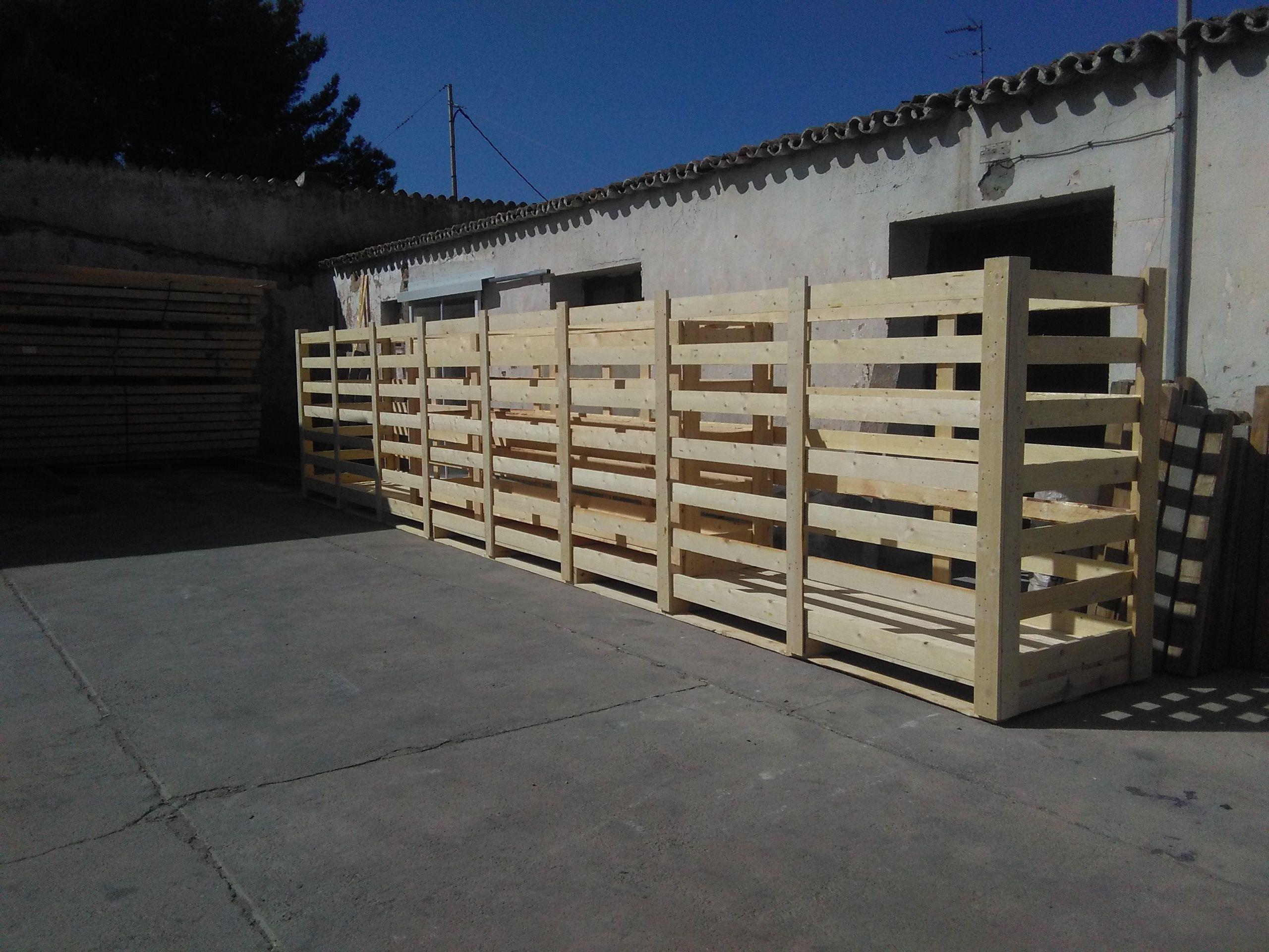 Foto 18 de Cajas de madera en San Antonio de Benagéber | Envases y Embalajes Anem