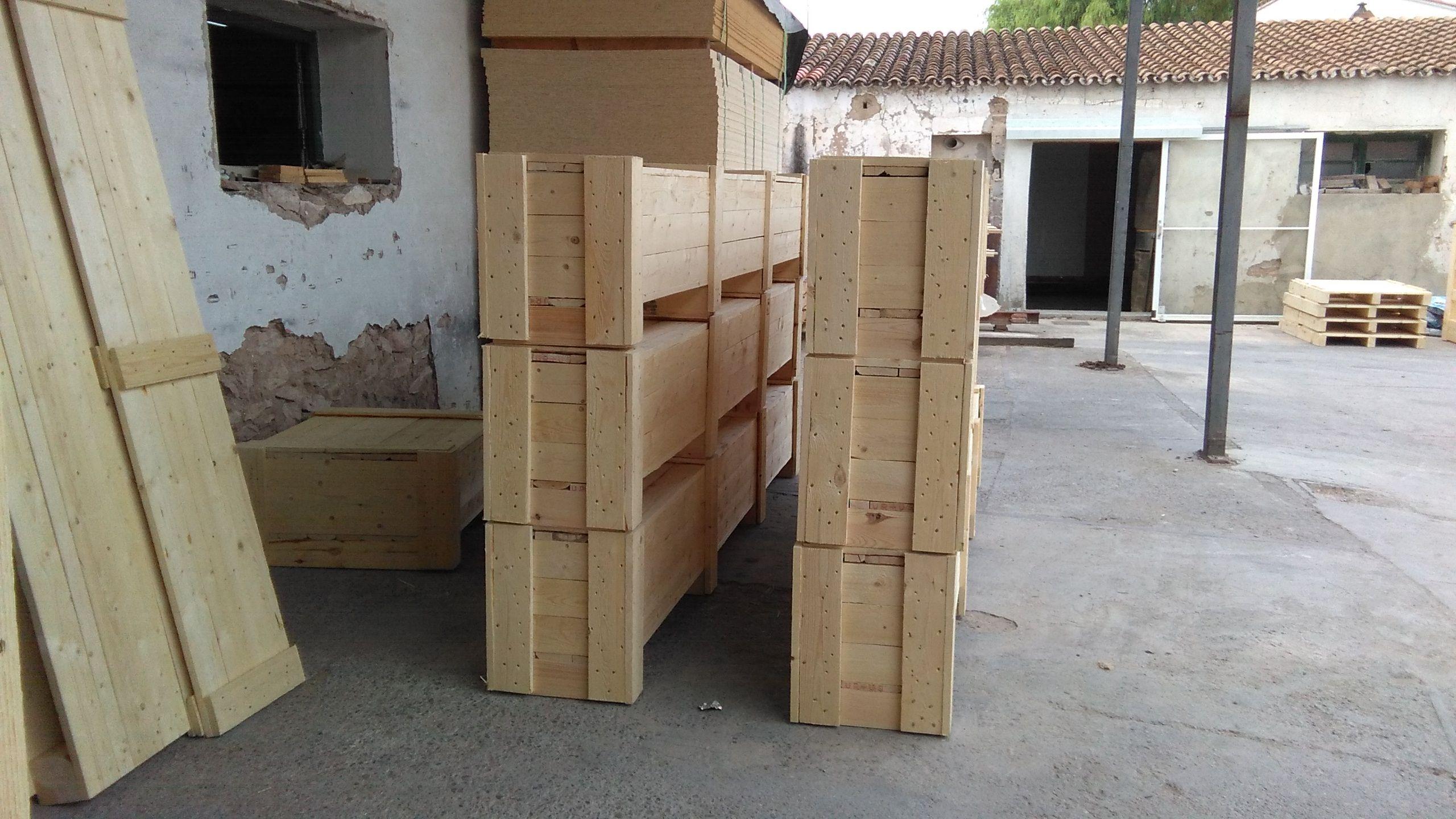 Foto 15 de Cajas de madera en San Antonio de Benagéber | Envases y Embalajes Anem