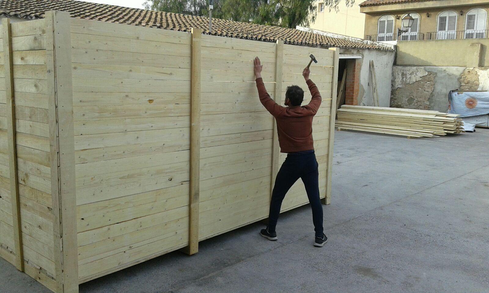 Foto 25 de Cajas de madera en San Antonio de Benagéber   Envases y Embalajes Anem