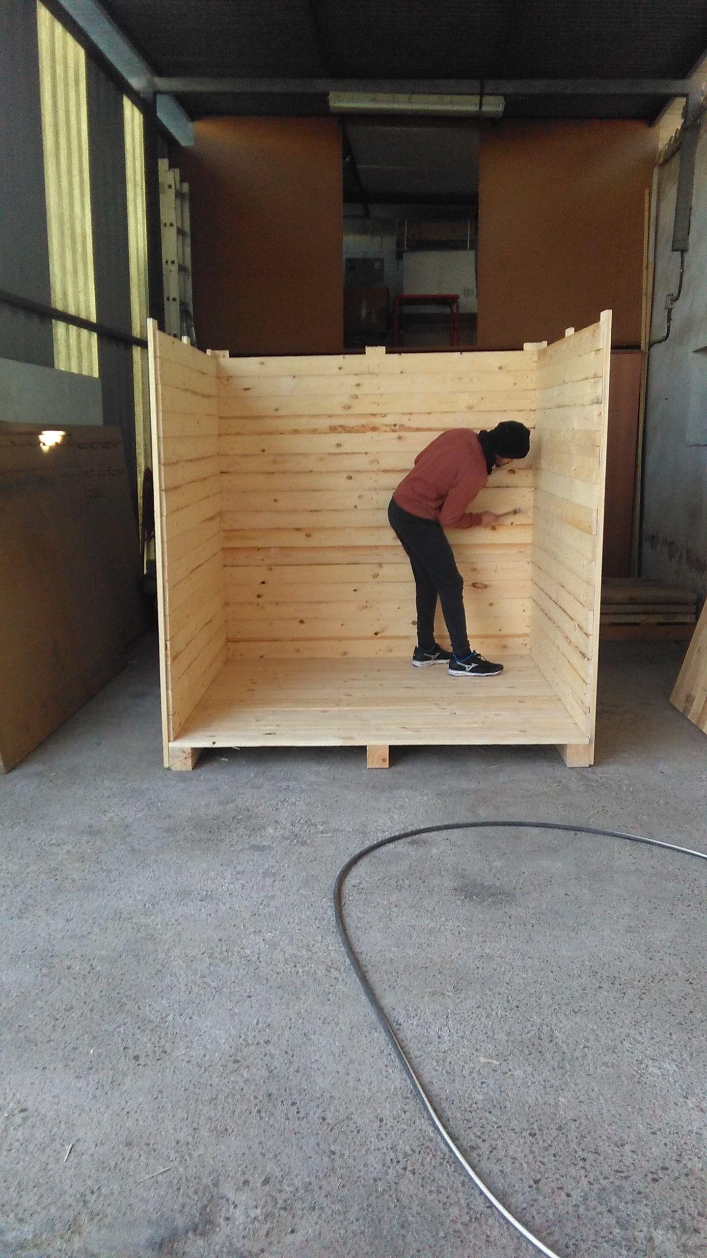 Foto 12 de Cajas de madera en San Antonio de Benagéber | Envases y Embalajes Anem
