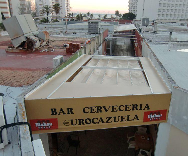 Empresa de toldos para hostelería en El Puerto de Santa María