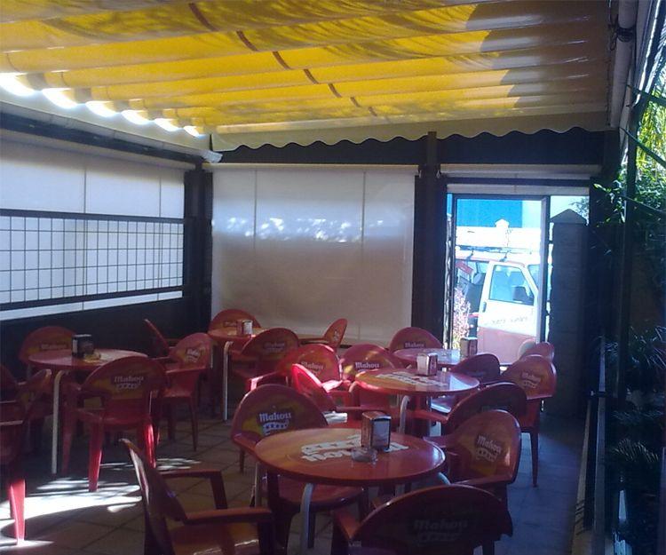 Instalación de toldos para hostelería en El Puerto de Santa María