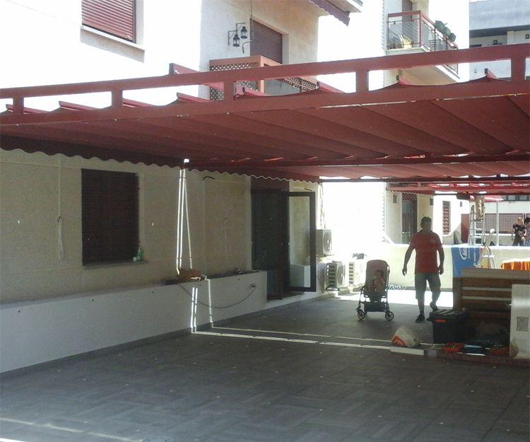 Fabricación e instalación de toldos en El Puerto de Santa María