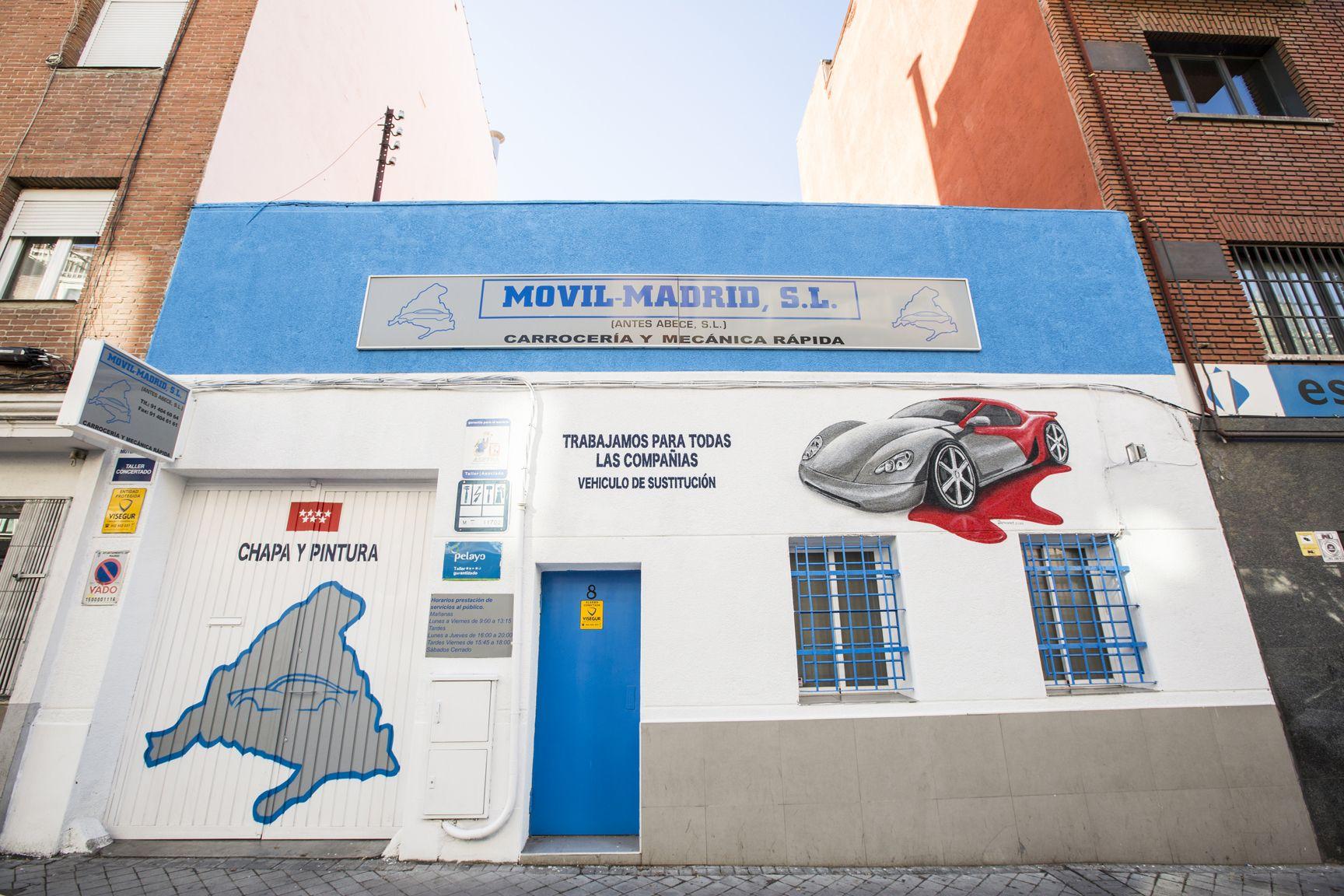 Foto 1 De Taller De Mecanica En Movil Madrid