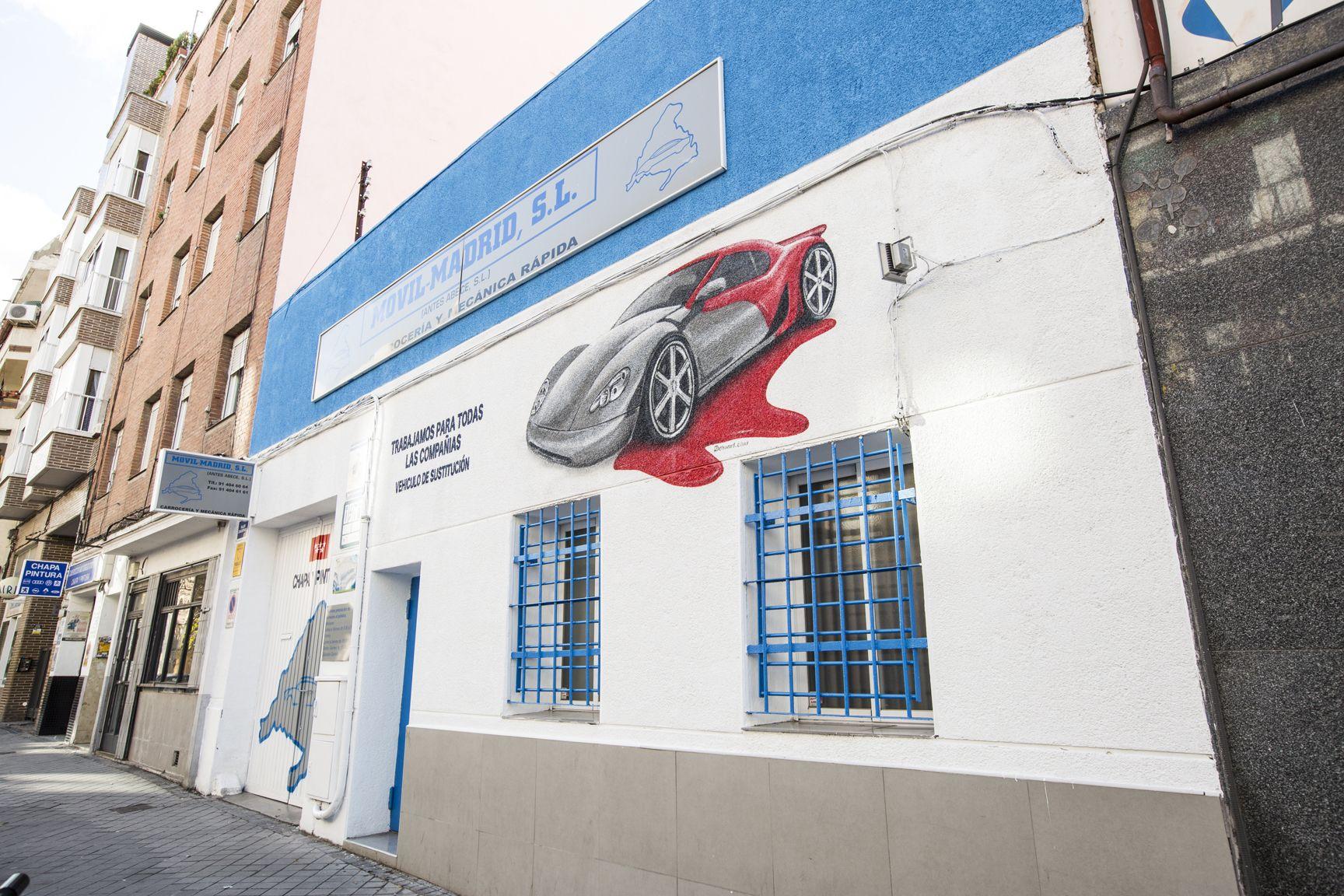 Foto 7 De Taller De Mecanica En Movil Madrid