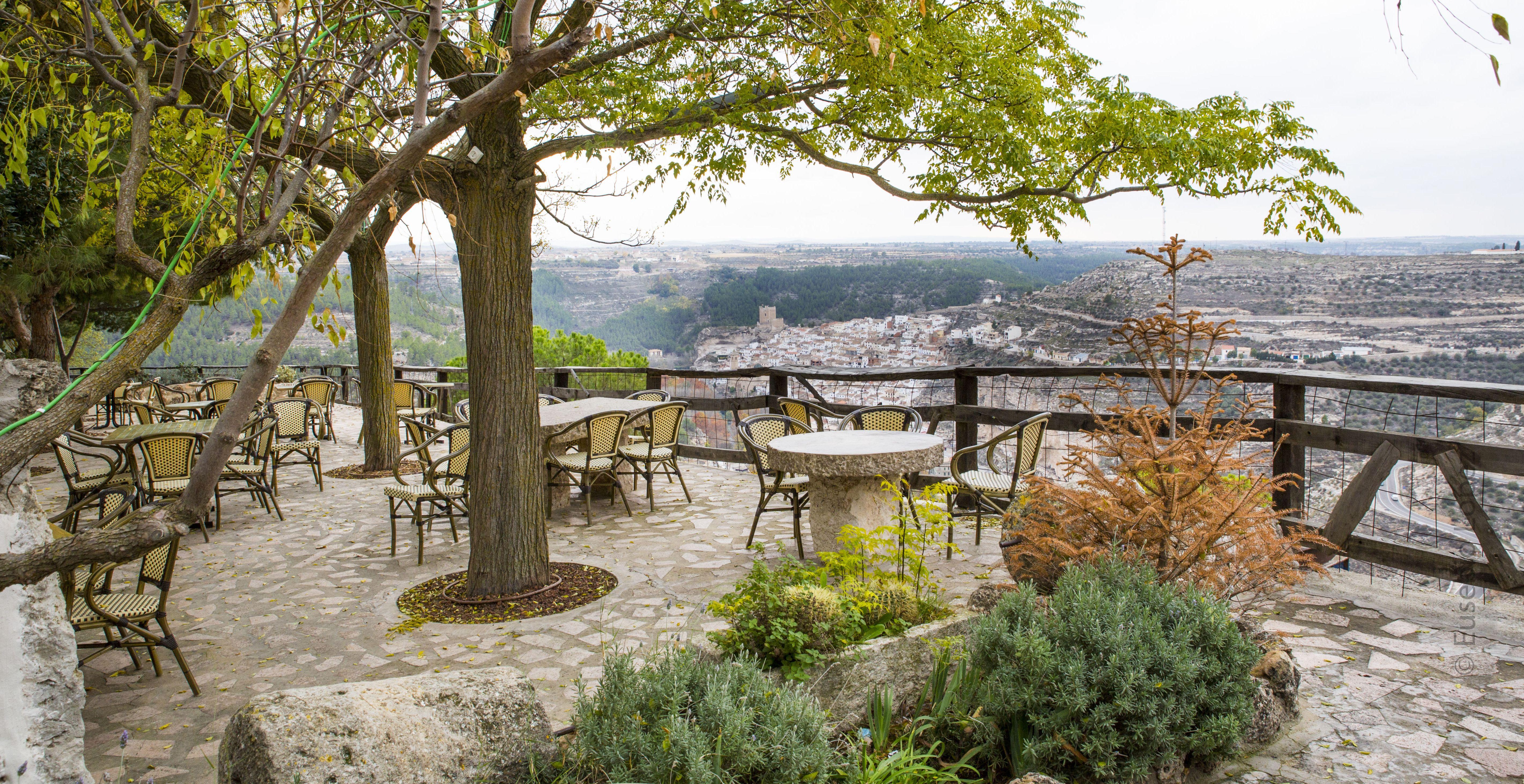 Mirador del restaurante con amplias vistas