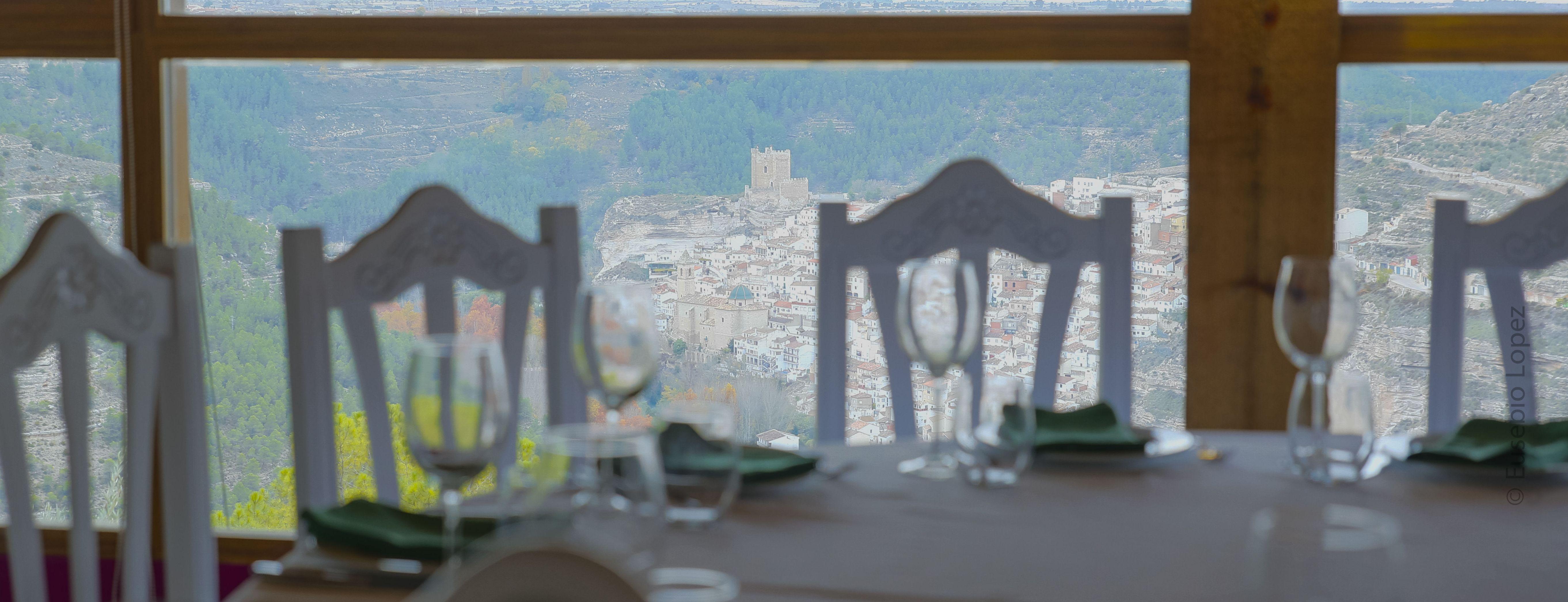 Detalle de las mesas de nuestro restaurante