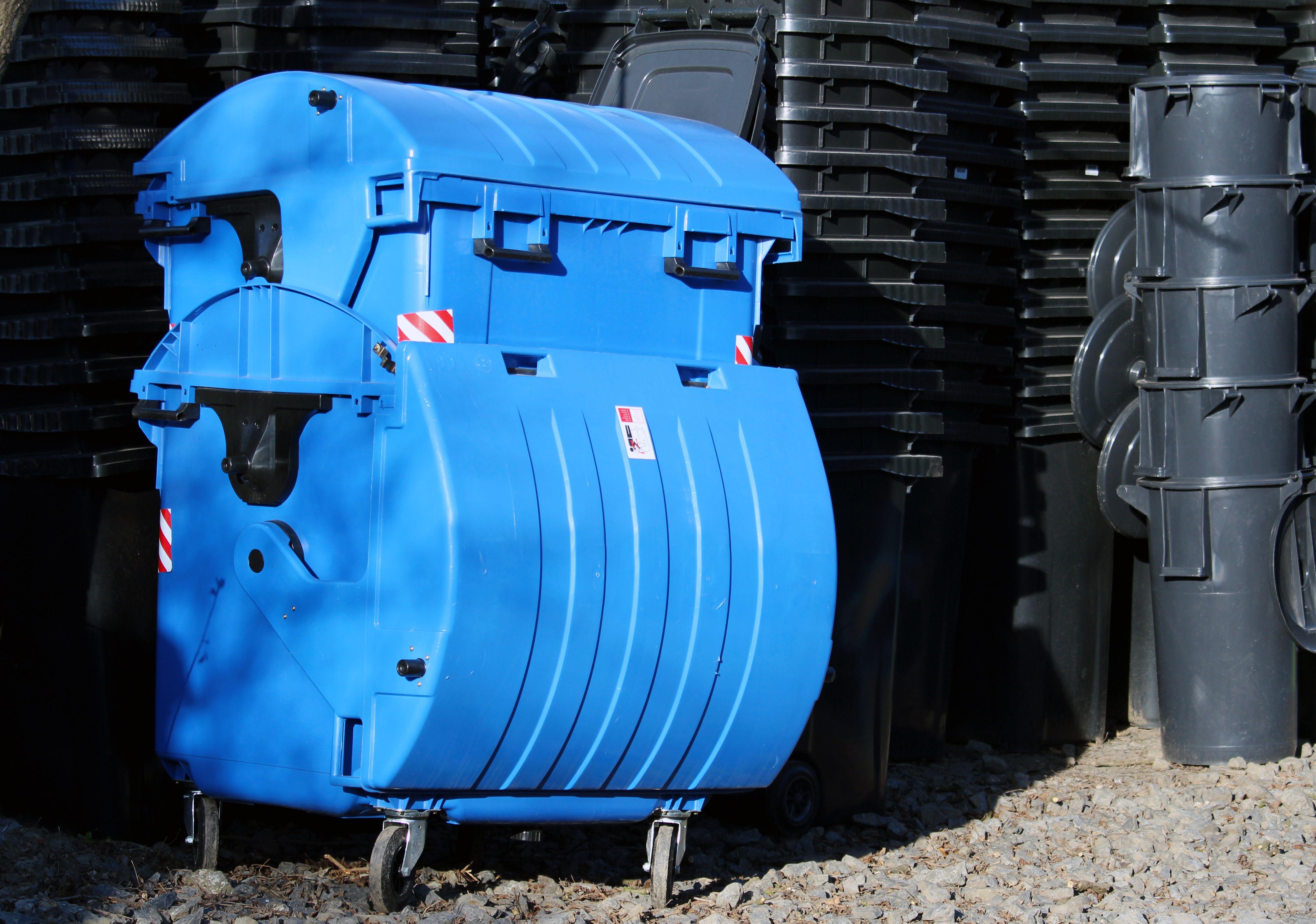 Contenedores para reciclaje