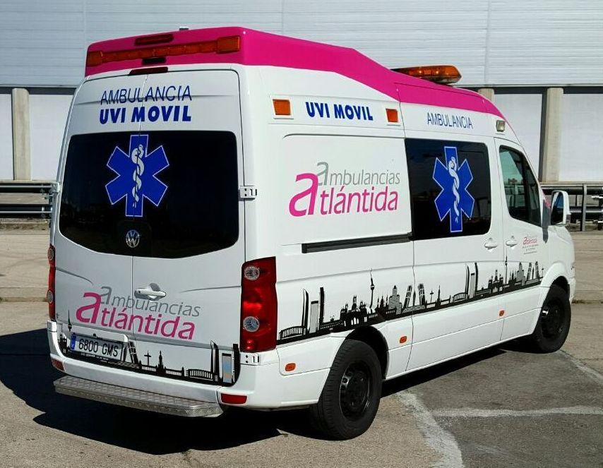 Ambulancia Tipo C - UVI Móvil