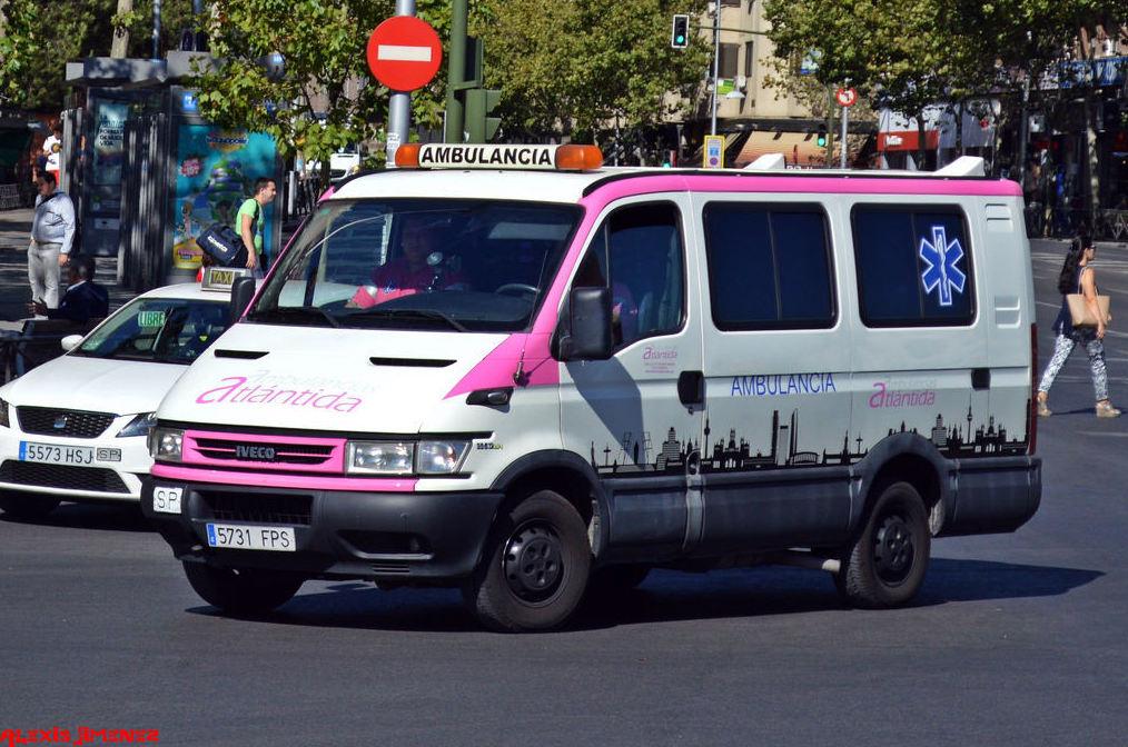 Ambulancias privadas y UVI móvil en Madrid y Toledo