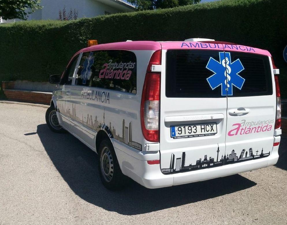 Ambulancia Tipo A1 - Mercedes - Máximo confort para traslados de largo recorrido