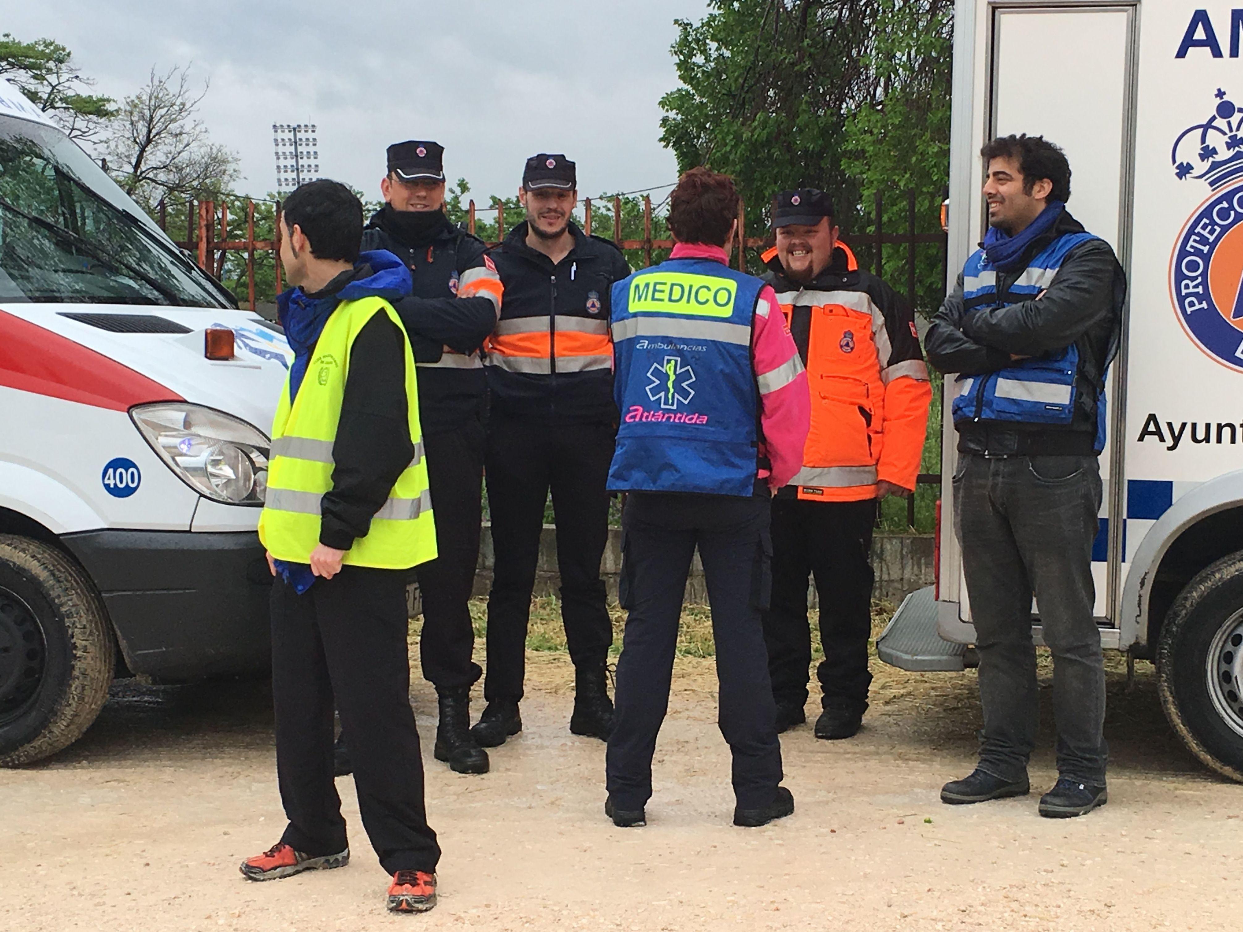Preventivo Medicalizado en colaboración con Protección Civil de Leganés -  Carrera XVII 2 Leguas de Leganes
