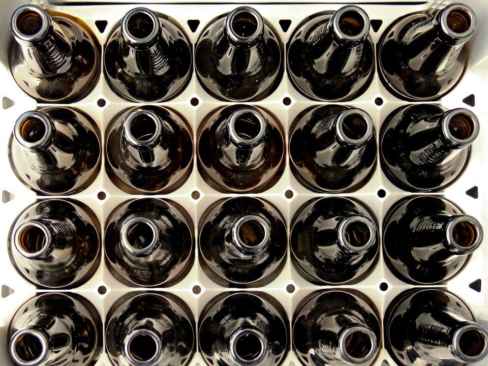 Botellas de cristal Ourense