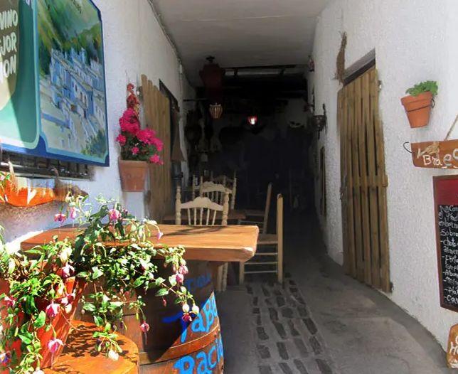 Restaurante con mucha calidad y mucha cantidad en Pampaneira