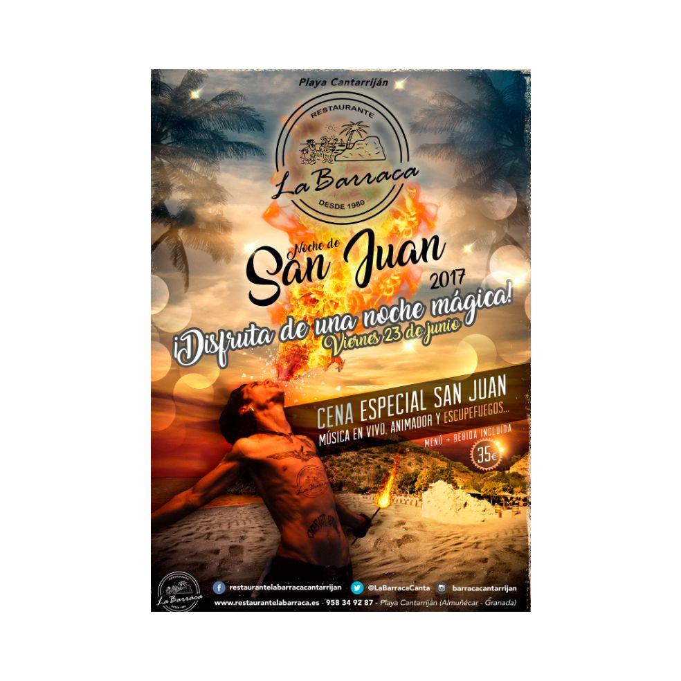 Noche de San Juan: Productos y servicios de Restaurante La Barraca