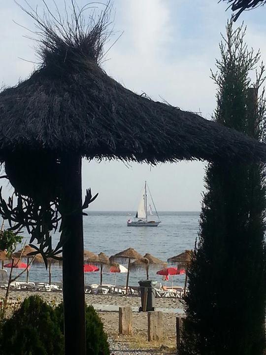 Disfrute de unas increíbles vistas al mar desde La Barraca