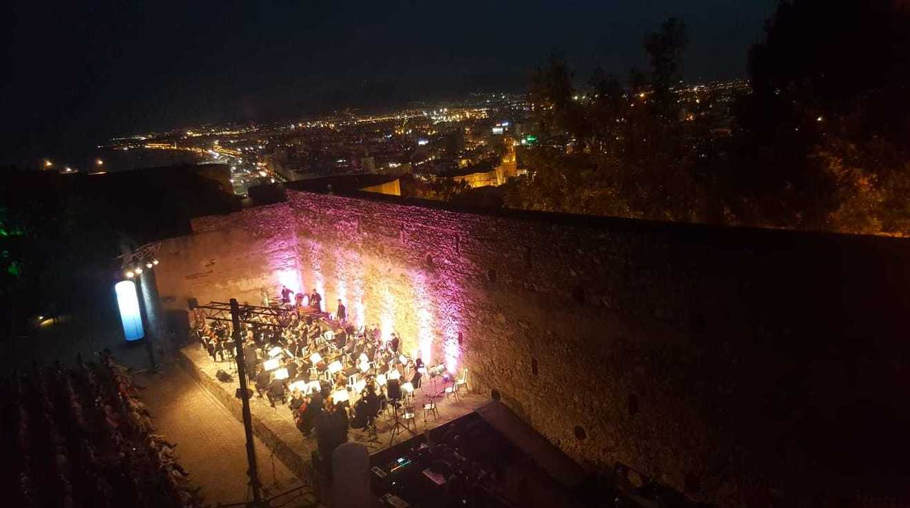 Julio Musical en Castillo de Gibralfaro